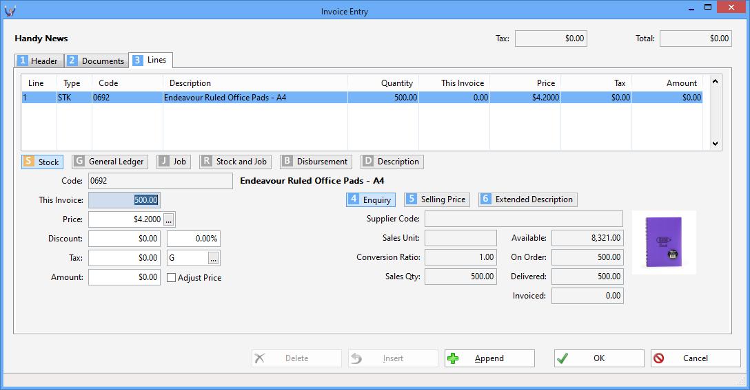 Triumph ERP Invoice entry sample 11 1088x567