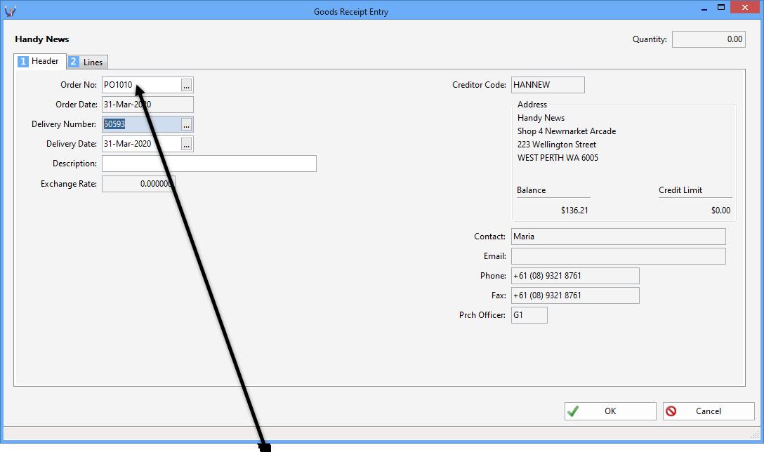Triumph ERP Invoice entry sample 8 1088x644