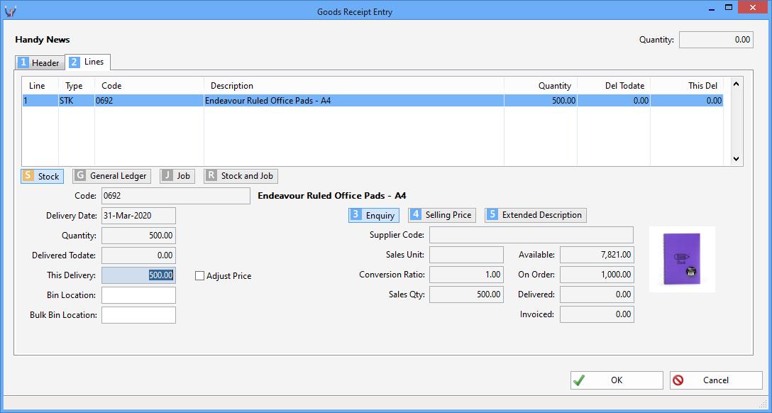 Triumph ERP Invoice entry sample 9 1088x582