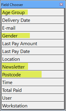 add user defined columns to the pos transaction lookup 4