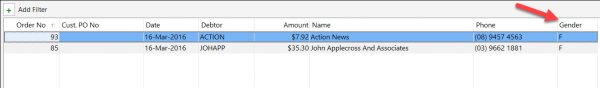 add user defined columns to the pos transaction lookup 5