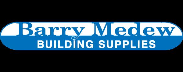 Barry Medew building supplies client logo 300x118
