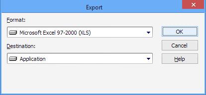 export to excel 2