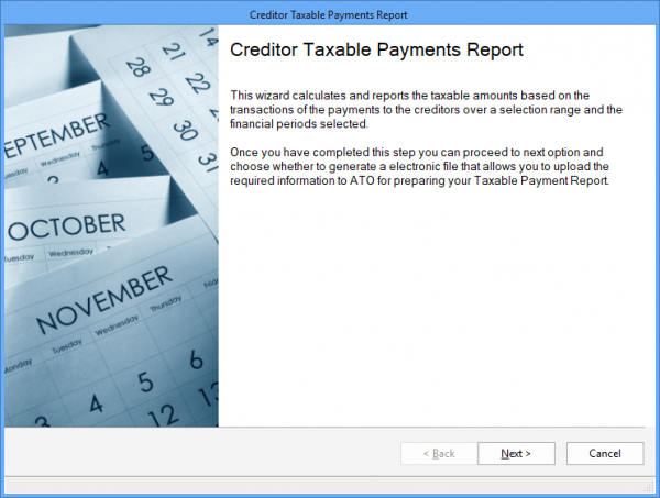 creditor taxable payments report