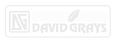 David Grays Logo White