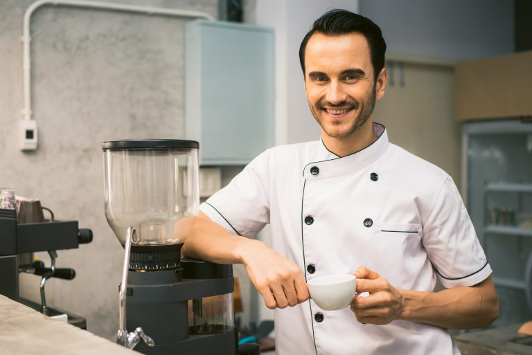 barista with coffee 470x314