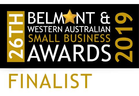 Belmont SBA 2019 finalist Logo