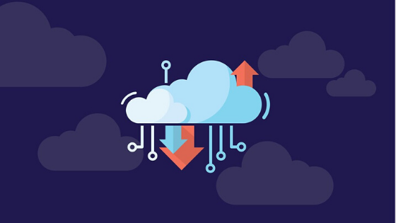 vector graphic cloud data 560x315
