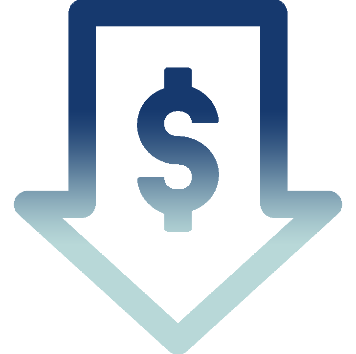 reducing your costs icon