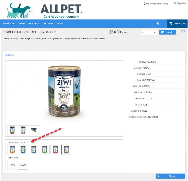 All Pet client screenshot sample 1010x975