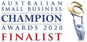 Australian small business champion awards finalist logo 300x147