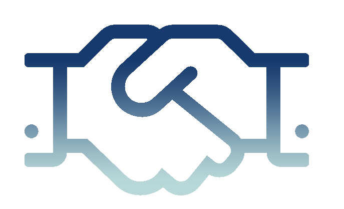 Company handshake