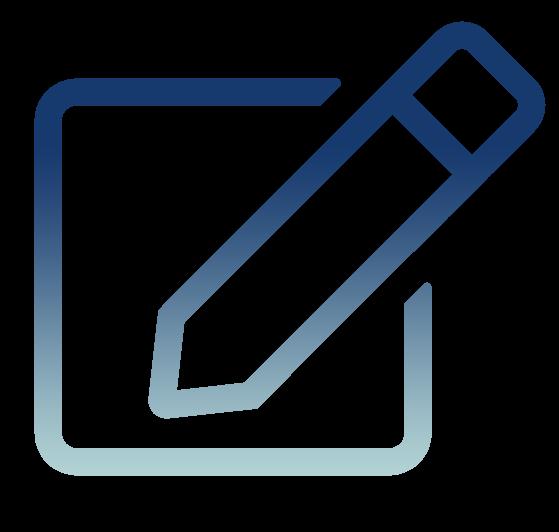 Triumph ERP icon Blog pencil