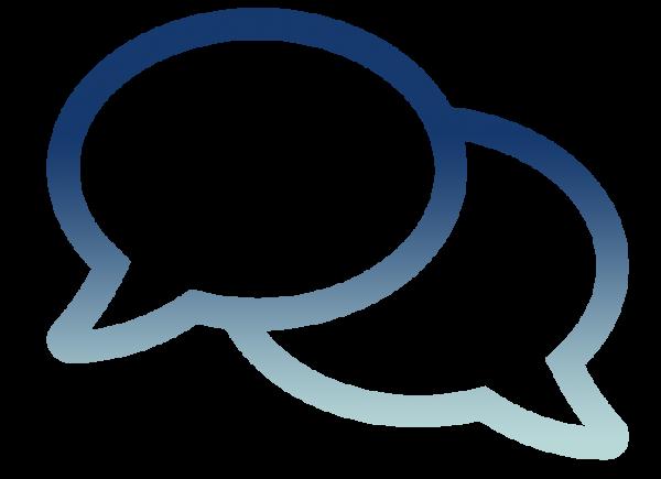 Triumph ERP icon tips and tricks speech bubble